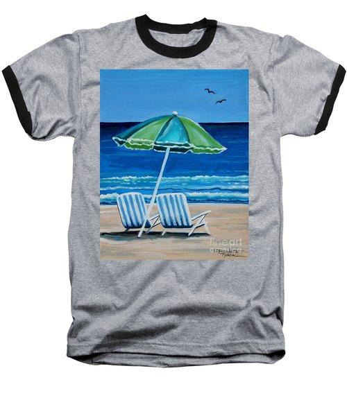 Beach Chair Bliss Baseball T-Shirt
