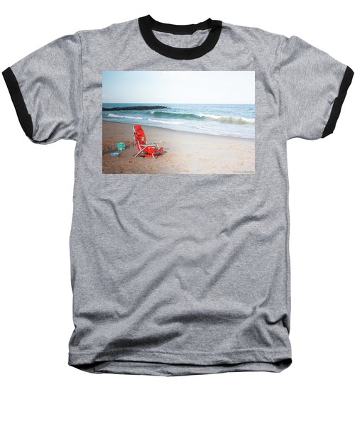 Beach Chair By The Sea Baseball T-Shirt