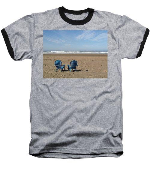Beach Chair Pair Baseball T-Shirt