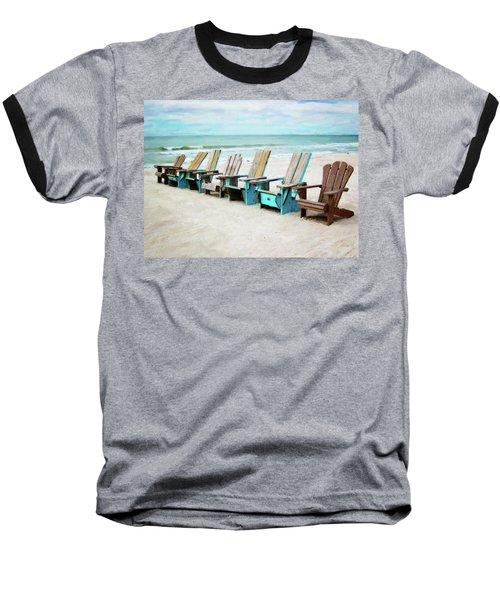 Beach Chairs Baseball T-Shirt