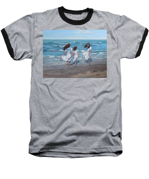 Beach Day Baseball T-Shirt