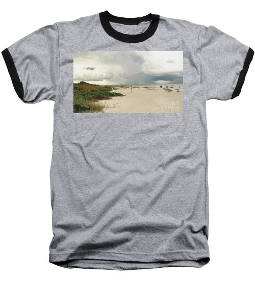 Baseball T-Shirt featuring the photograph Beach Day by Raymond Earley