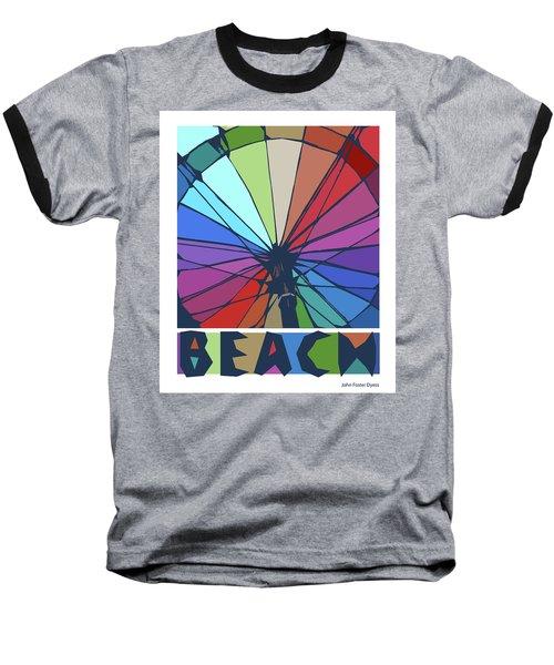 Beach Design By John Foster Dyess Baseball T-Shirt