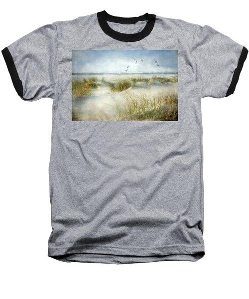 Beach Dreams Baseball T-Shirt by Annie Snel