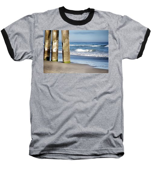 Baseball T-Shirt featuring the photograph Beach Dreams by Phil Mancuso