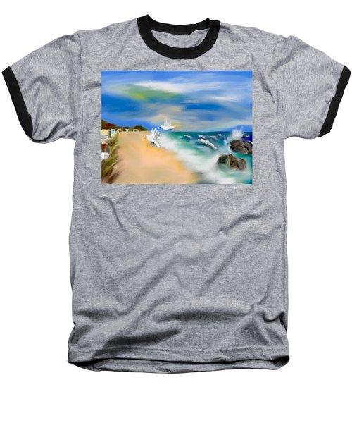 Beach Energy Baseball T-Shirt