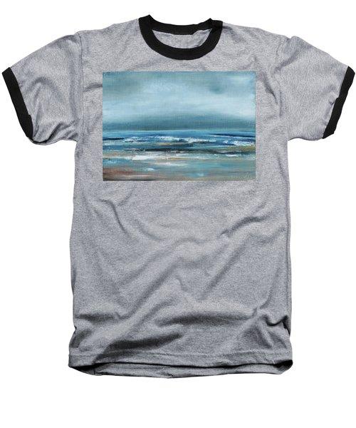 Beach Exercise Baseball T-Shirt