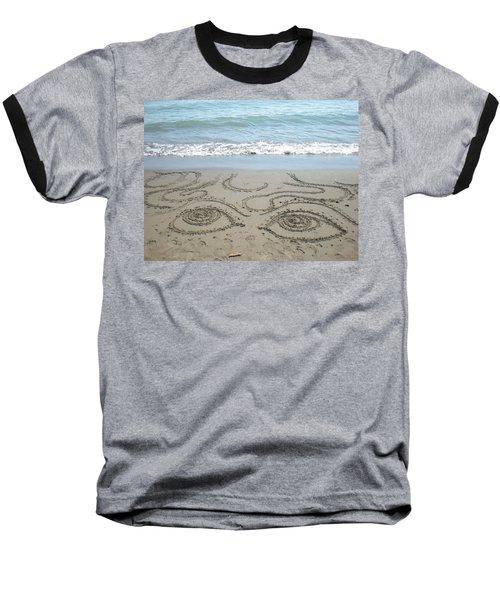 Beach Eyes Baseball T-Shirt