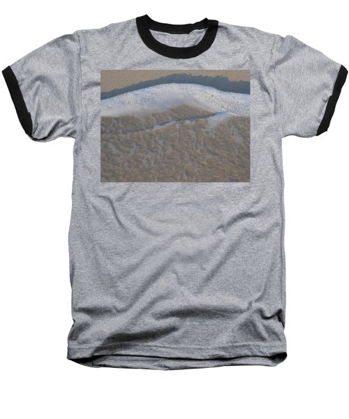 Beach Foam Baseball T-Shirt by Margaret Brooks