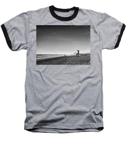 Beach Fog Baseball T-Shirt