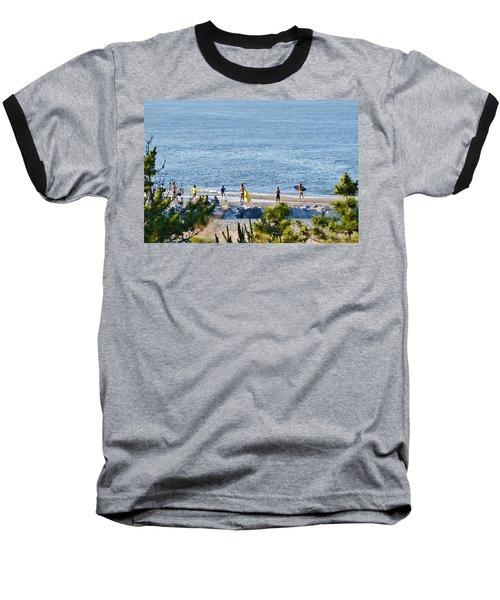 Beach Fun At Cape Henlopen Baseball T-Shirt