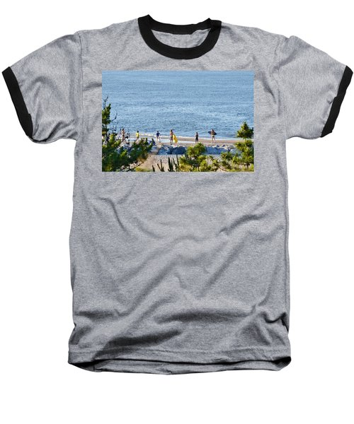 Beach Fun At Cape Henlopen Baseball T-Shirt