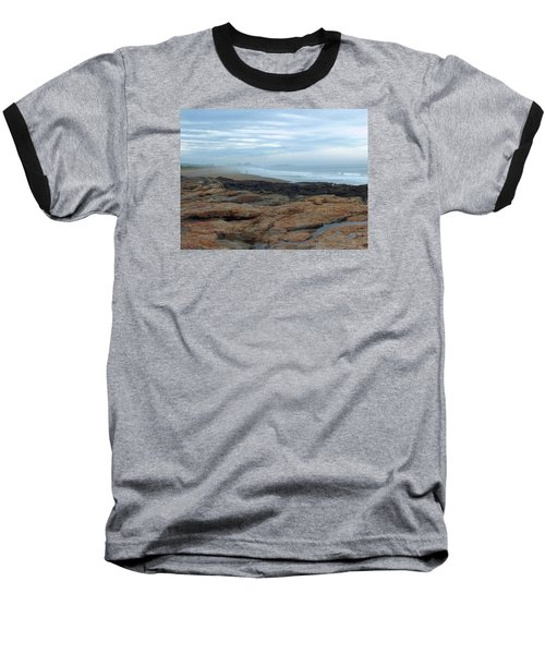 Beach Baseball T-Shirt by Gene Cyr