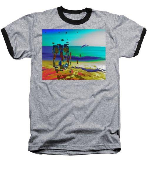Beach Geometry  Baseball T-Shirt