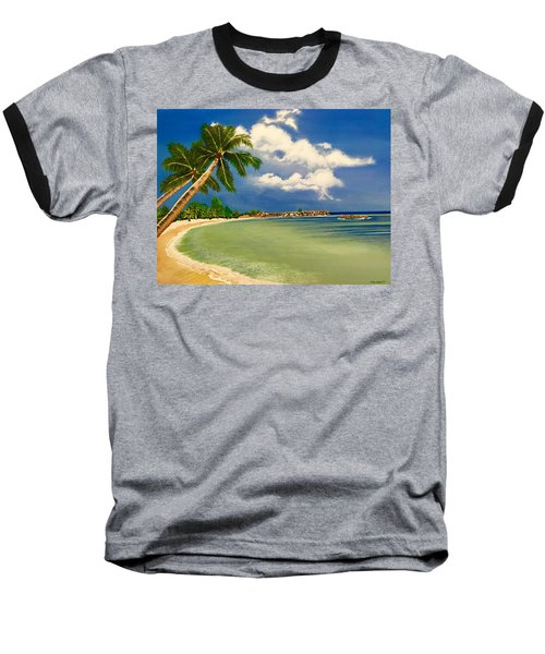 Beach Getaway Baseball T-Shirt