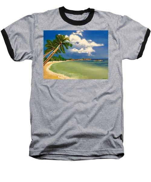 Beach Getaway Baseball T-Shirt
