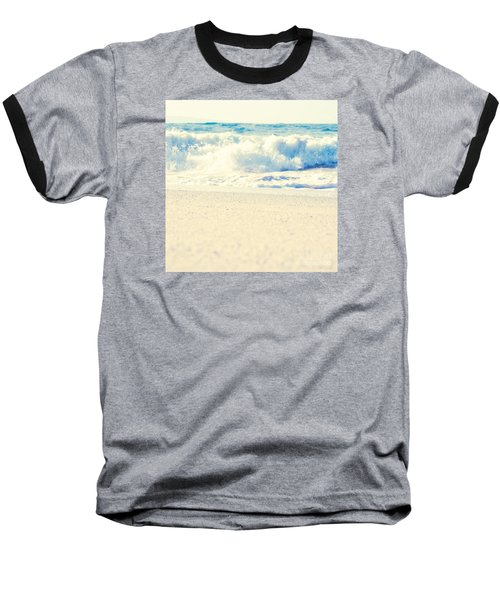 Baseball T-Shirt featuring the photograph Beach Gold by Sharon Mau