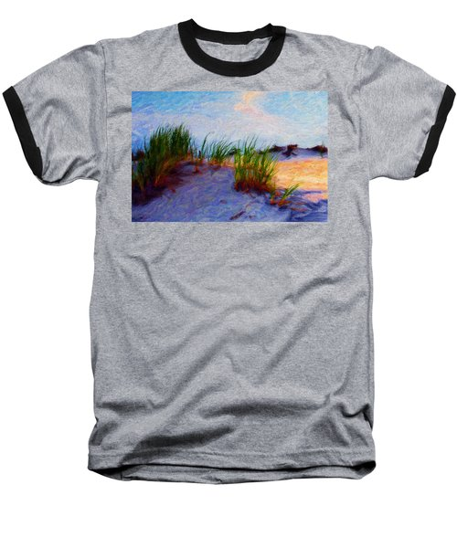 Beach Grass Baseball T-Shirt