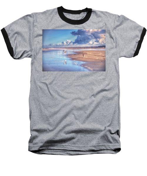 Beach Gulls Baseball T-Shirt