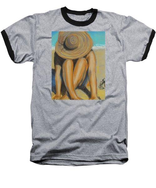 Beach Hat Baseball T-Shirt