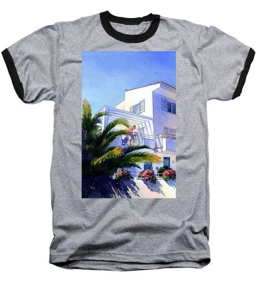 Beach House At Figueres Baseball T-Shirt