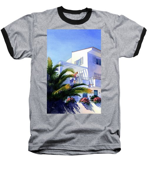Beach House At Figueres Baseball T-Shirt