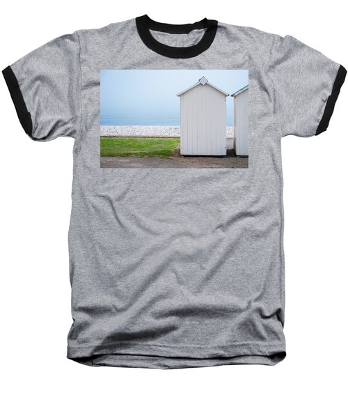 Beach Hut By The Sea Baseball T-Shirt