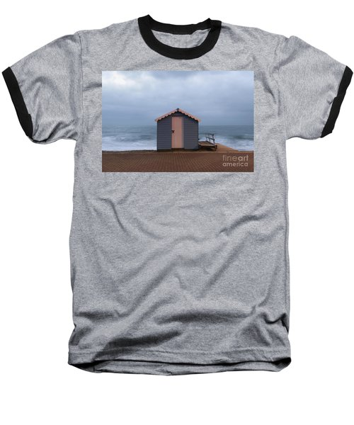 Beach Hut Baseball T-Shirt