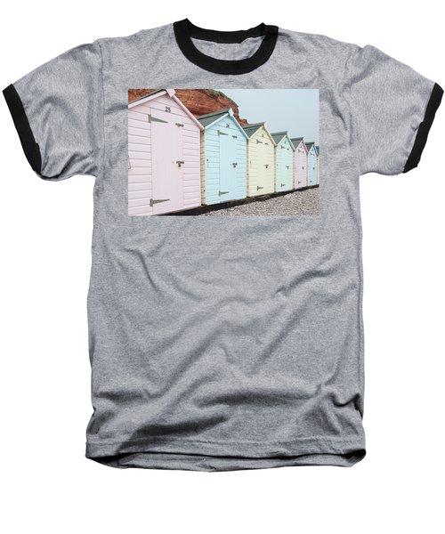 Beach Huts Vi Baseball T-Shirt