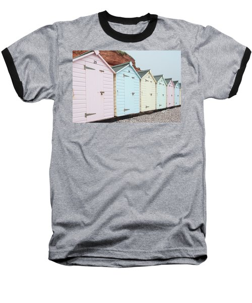 Beach Huts Vi Baseball T-Shirt