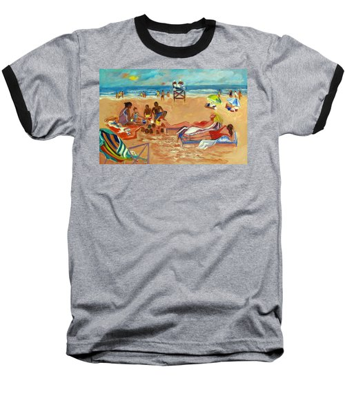 Beach In August Baseball T-Shirt