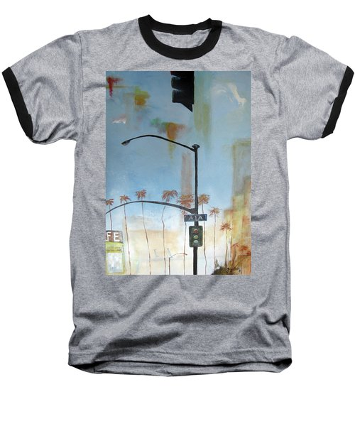 Beach Lights Baseball T-Shirt