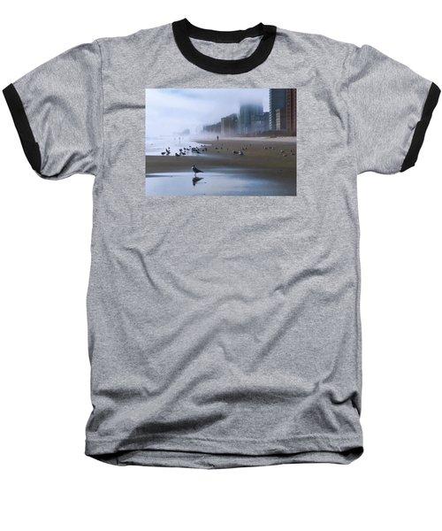 Beach Morning Baseball T-Shirt