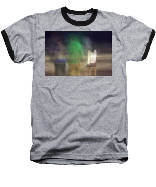 Beach Night 2 Baseball T-Shirt