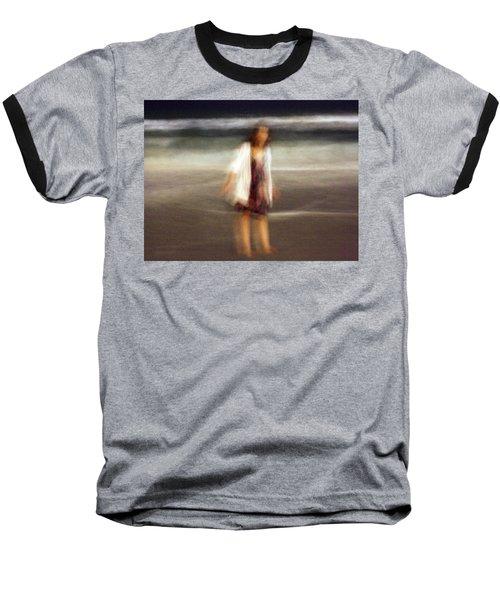 Beach Night 3 Baseball T-Shirt