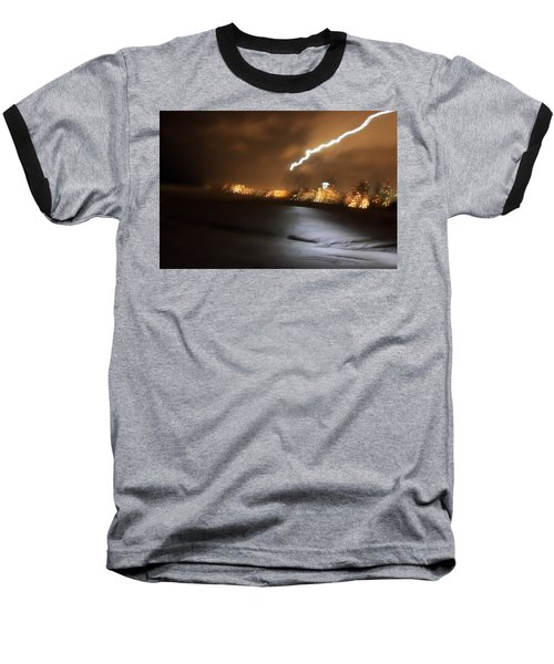 Beach Night 4 Baseball T-Shirt