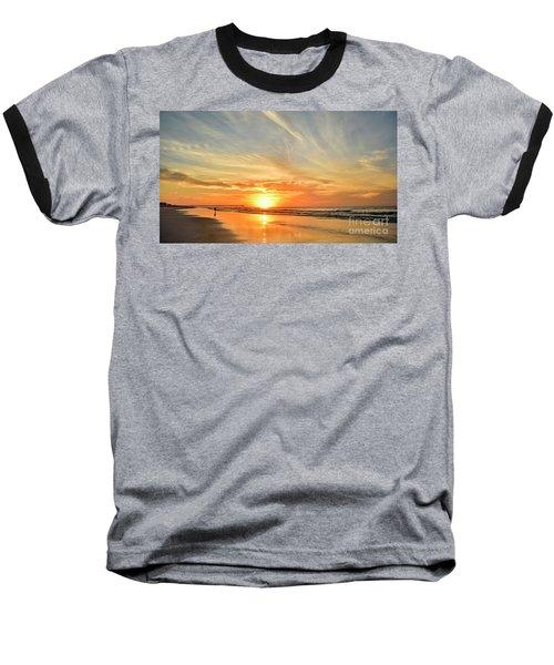 Beach Of Gold Baseball T-Shirt