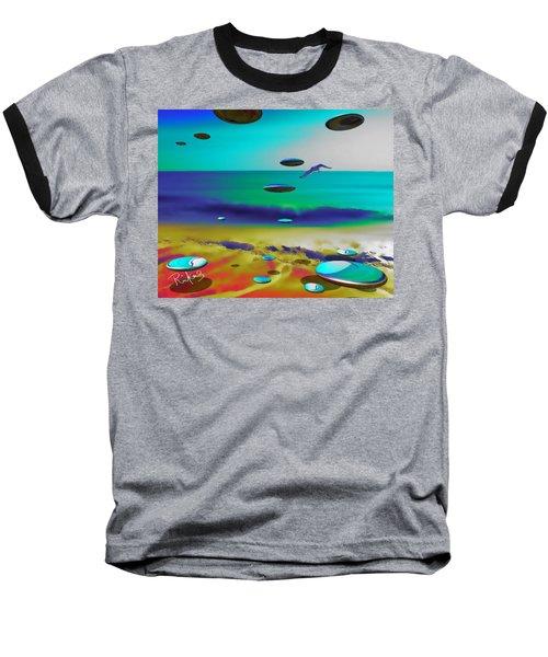 Beach Orbs Baseball T-Shirt