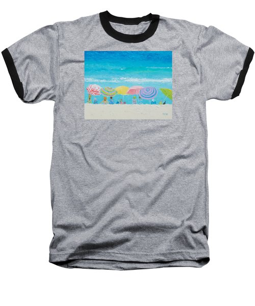 Beach Painting - Color Of Summer Baseball T-Shirt