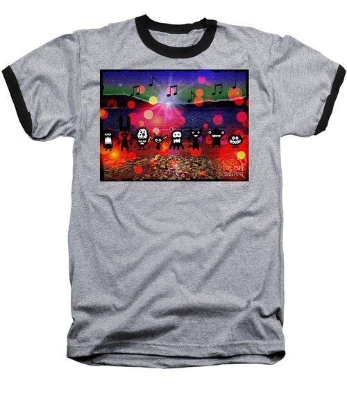 Beach Party Critters Baseball T-Shirt