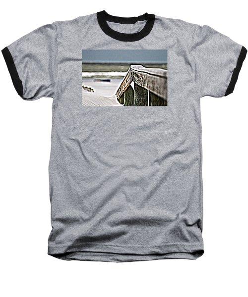 Beach Rail Baseball T-Shirt