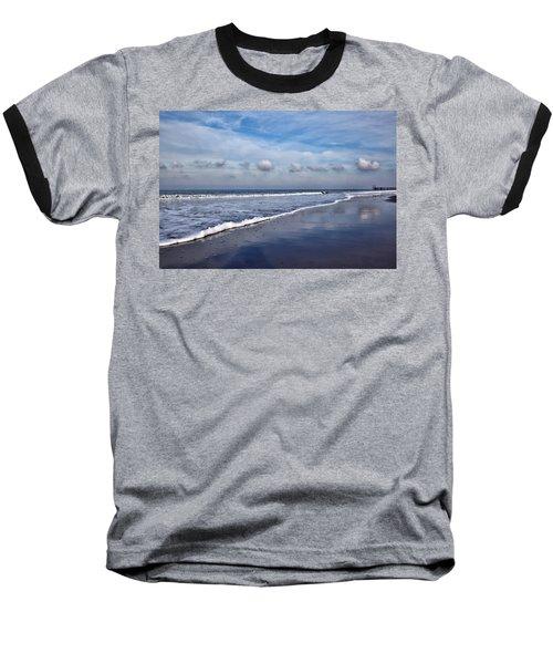 Beach Reflections Baseball T-Shirt