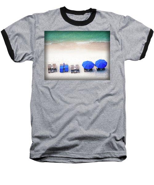 Beach Relax Baseball T-Shirt