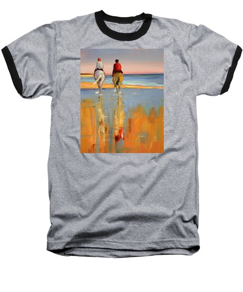 Beach Riders Baseball T-Shirt