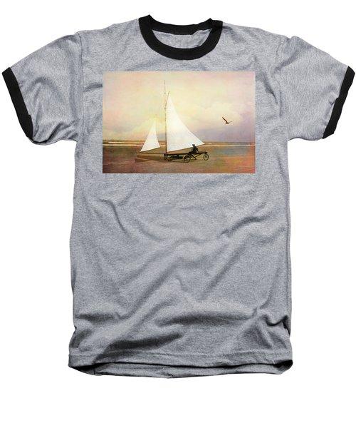 Beach Sailing Baseball T-Shirt