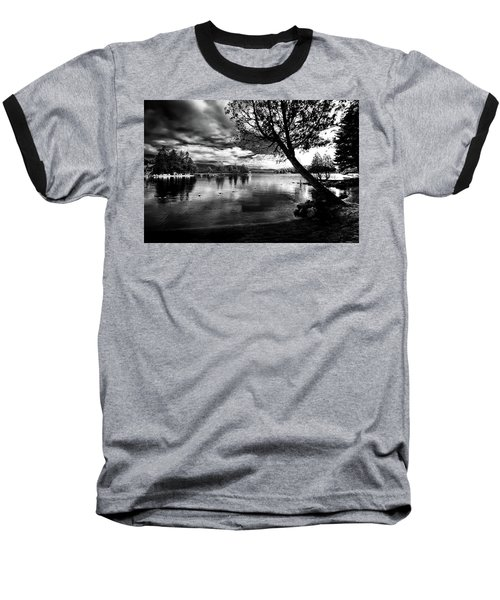 Baseball T-Shirt featuring the photograph Beach Silhouette by David Patterson