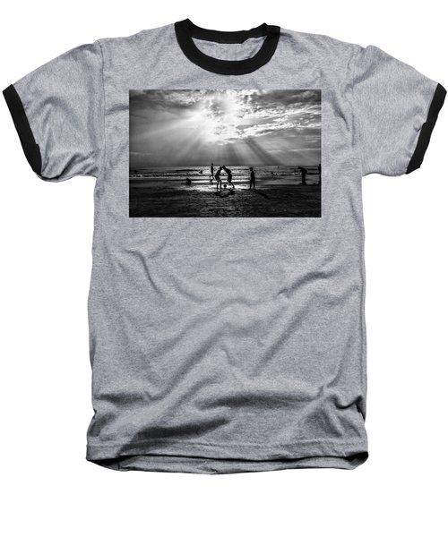 Beach Soccer Baseball T-Shirt