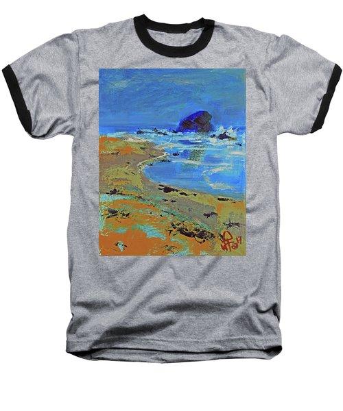 Beach Solitude Baseball T-Shirt