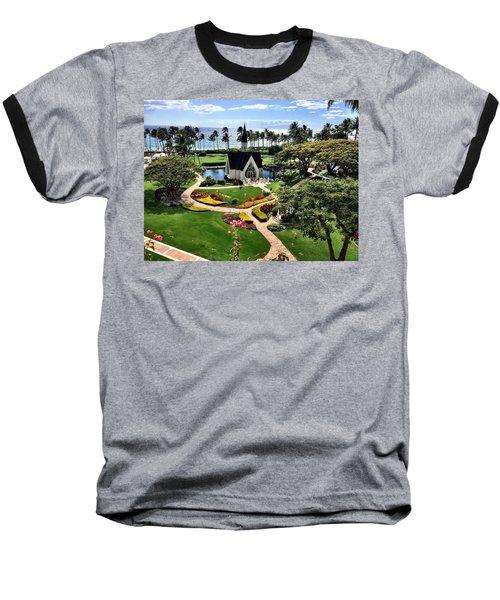 Beach Steeple Baseball T-Shirt