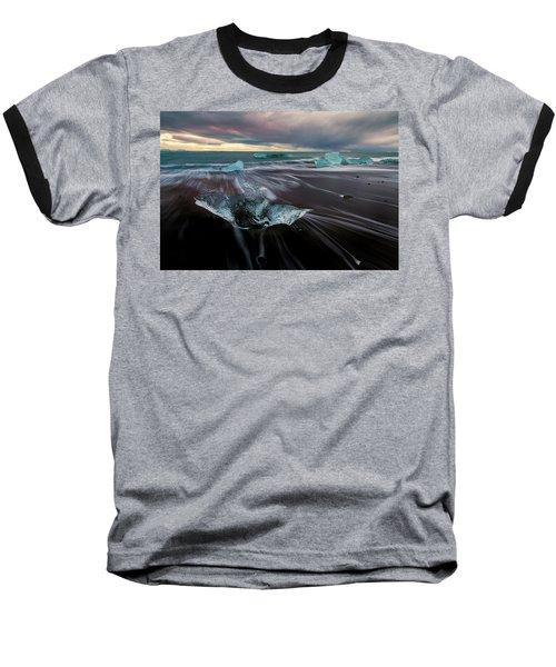 Beach Stranded Baseball T-Shirt